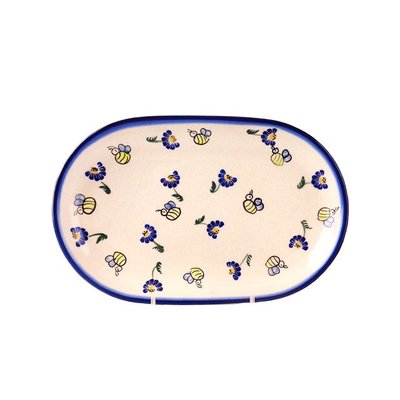Bee-Dazzled Oval Dish 24