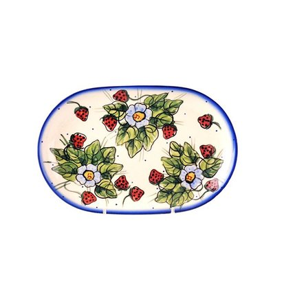 Berries & Cream Oval Dish 24
