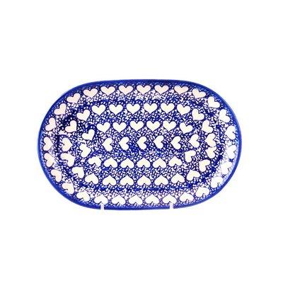 Hearts Oval Dish 24