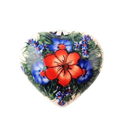 Kalich Mozy Pozy Heart Ornament