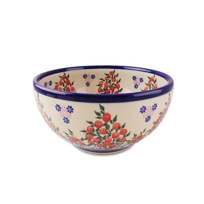 Kalich Red Berries Serving Bowl 19