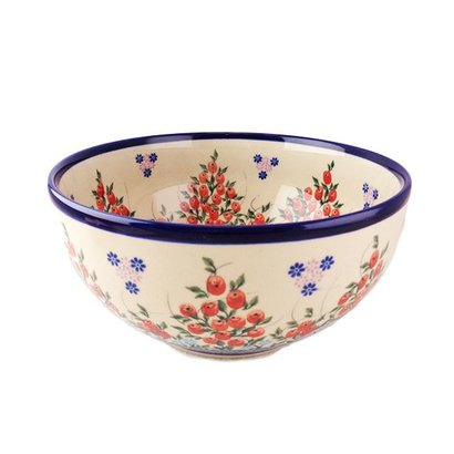 Kalich Red Berries Serving Bowl 23
