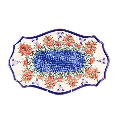 Kalich Red Berries Cezar Platter - Sm