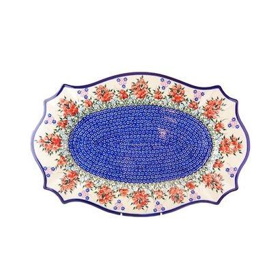 Kalich Red Berries Cezar Platter