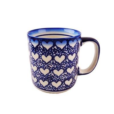 Hearts Straight Mug