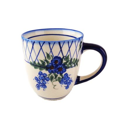 Lattice in Blue Mars Mug