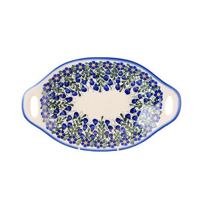 Annabel Oval Dish w/ Handle