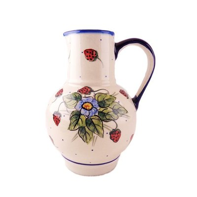 Berries & Cream Pitcher for Wine