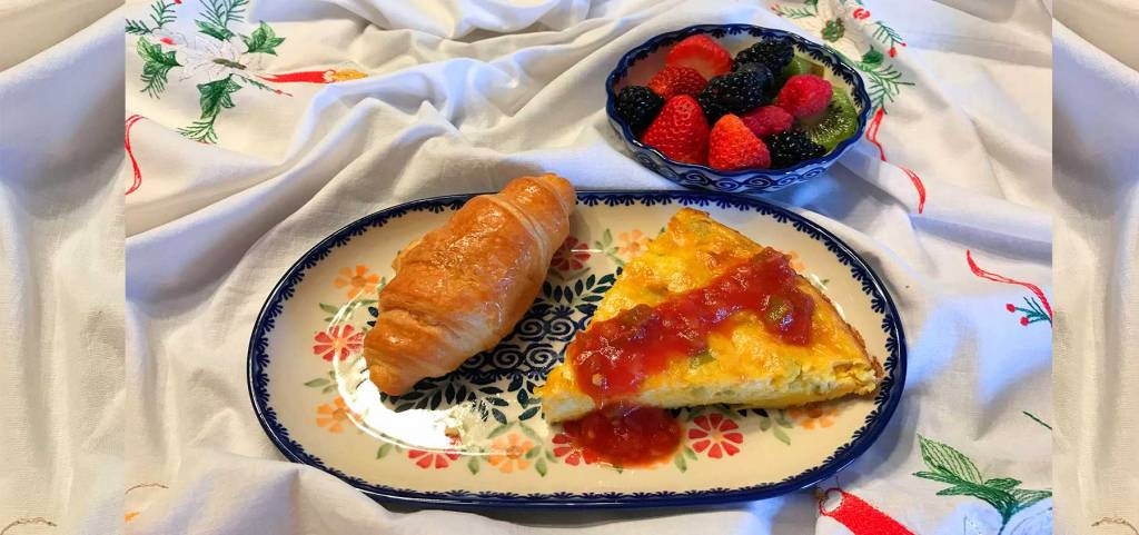 Serve Breakfast Egg Puffs in Your Favorite Polish Pottery Patterns
