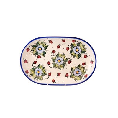 Berries & Cream Oval Platter 36
