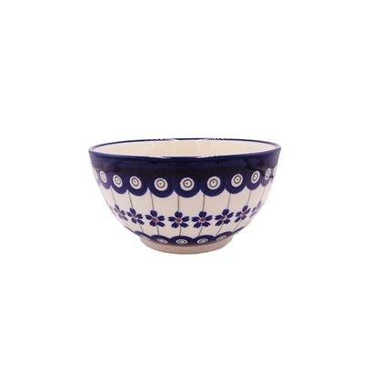 Floral Peacock Cereal Bowl