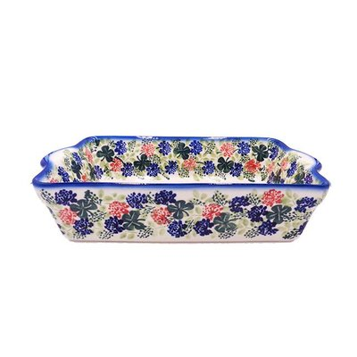 Irish Cheer Deep Rectangular Baker - Sm