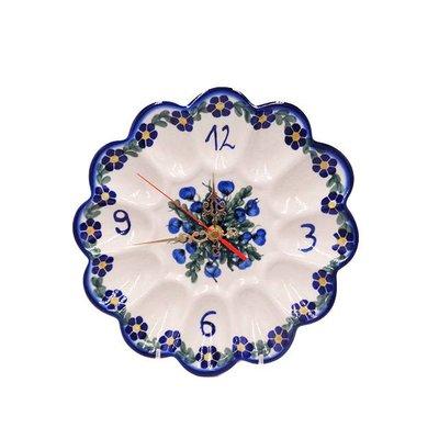 Annabel Egg Plate Clock