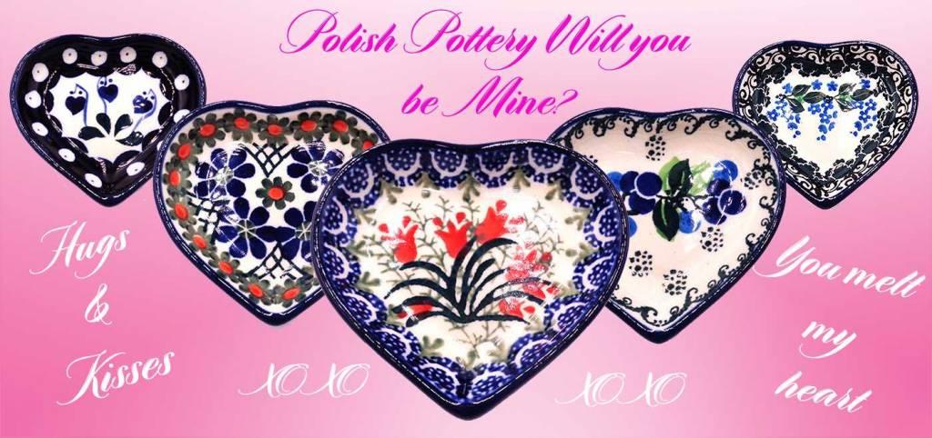 How Do I Love Thee Polish Pottery - Polish Pottery Shoppe