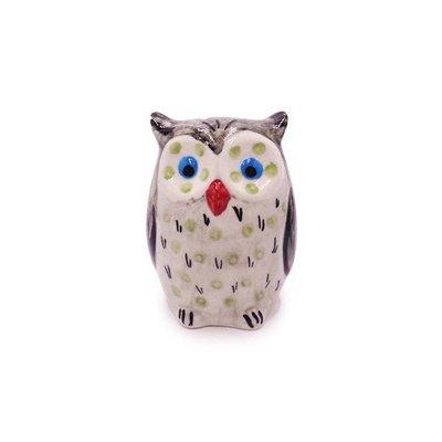 Owl - White