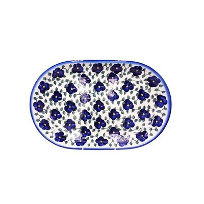 Petals & Ivy Oval Platter 36