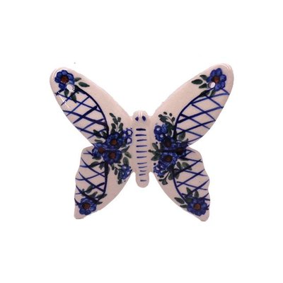 Lattice in Blue Butterfly