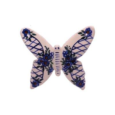 Lattice in Blue Butterfly