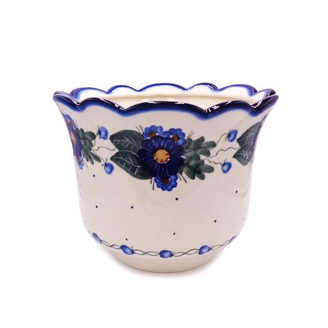 Polish Pottery Flower Pot Infinity Large Flower Pot The Polish Pottery Shoppe