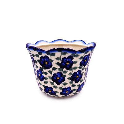 Petals & Ivy Flower Pot - Sm