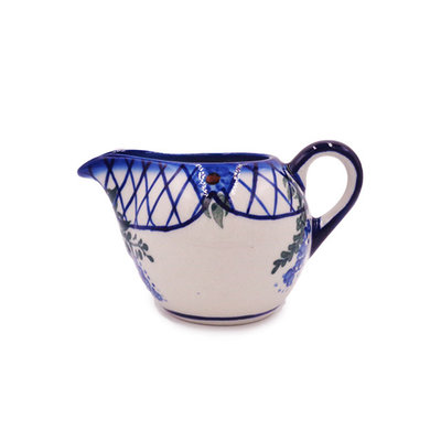 Lattice in Blue Vintage Creamer