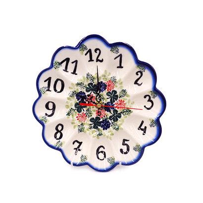 Irish Cheer Egg Plate Clock