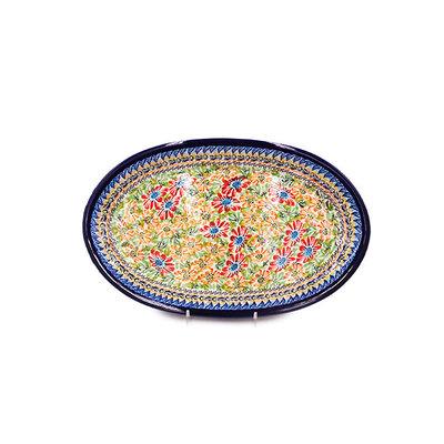 Primrose Swirl 13 x 8 Oblong Platter