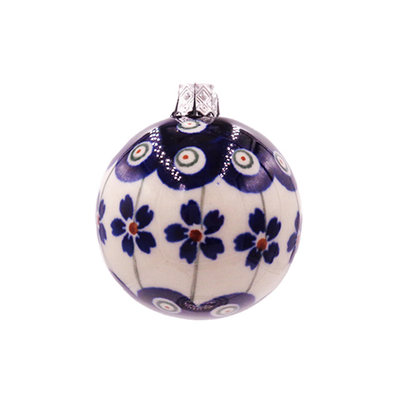 Floral Peacock Ornament