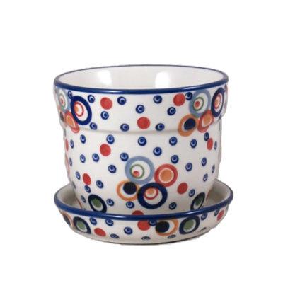 Ohhh! Flower Pot w/ Saucer - Sm