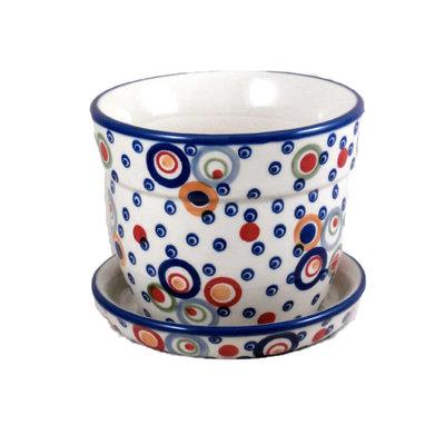 Ohhh! Flower Pot w/ Saucer - Lrg
