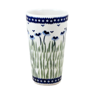 Blue Poppies Tall Tumbler