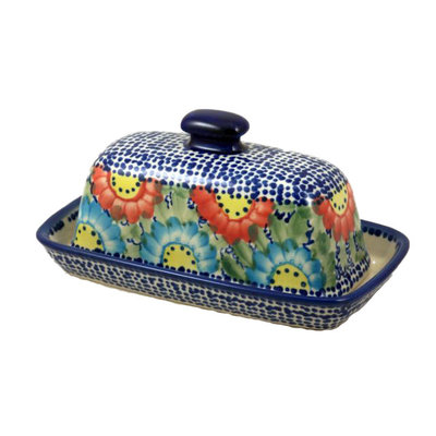 Gypsy Jazz Butter Dish