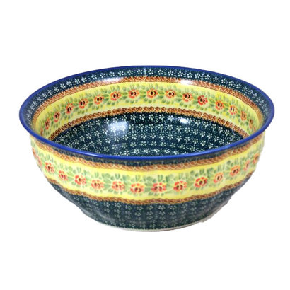 Rose Marie F30 Fluted Serving Bowl