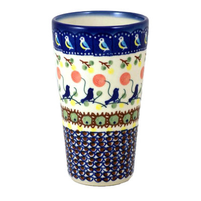 Blue Bird Tall Tumbler