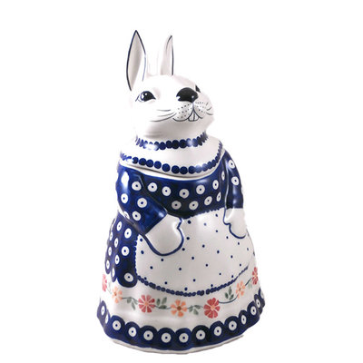 Pinwheels Bunny Jar