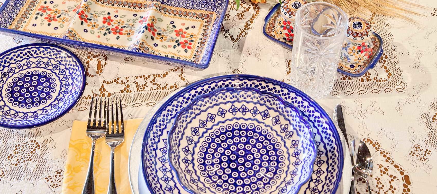 Fill Your Bridal Registry With Beautiful Polish Pottery Plates