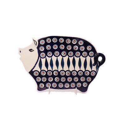 Peacock Piggy Cutting Board