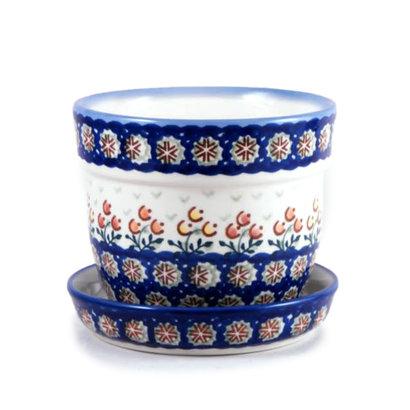 Mums Flower Pot w/ Saucer - Sm