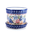 Rennie Flower Pot w/ Saucer - Sm