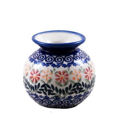 Marigolds Round Vase