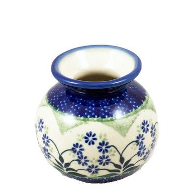 Forget Me Nots Round Vase