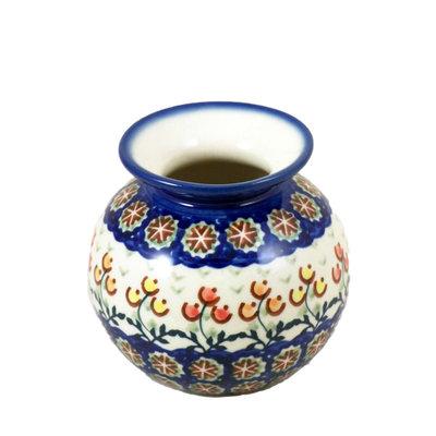 Mums Round Vase