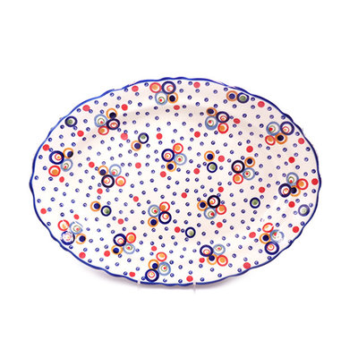 Ohhh! Scalloped Basia Platter