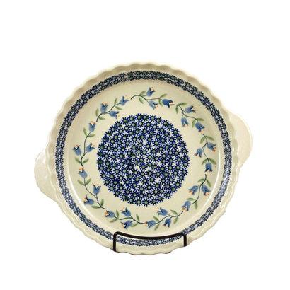 Bell Flower Pie Plate