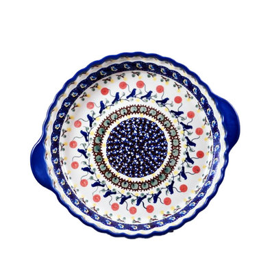 Blue Bird Pie Plate