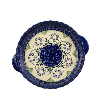 Forget Me Nots Pie Plate