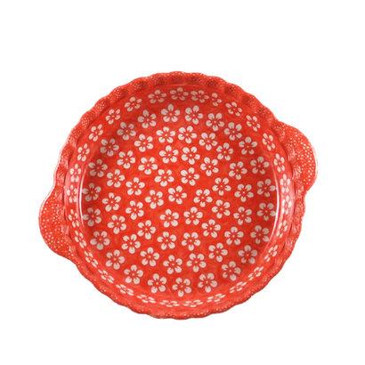 Orange Blossom Pie Plate