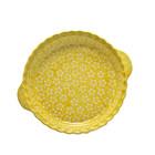 Yellow Blossom Pie Plate