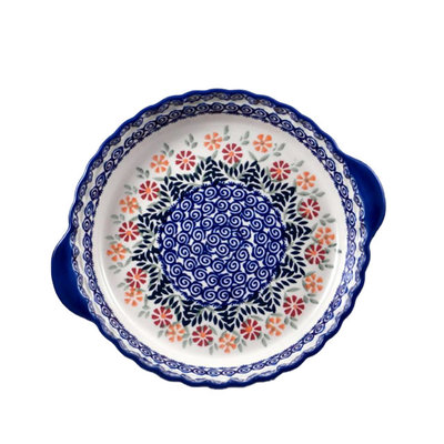 Marigolds Pie Plate