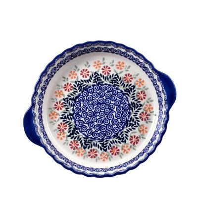 Marigolds Pie Plate